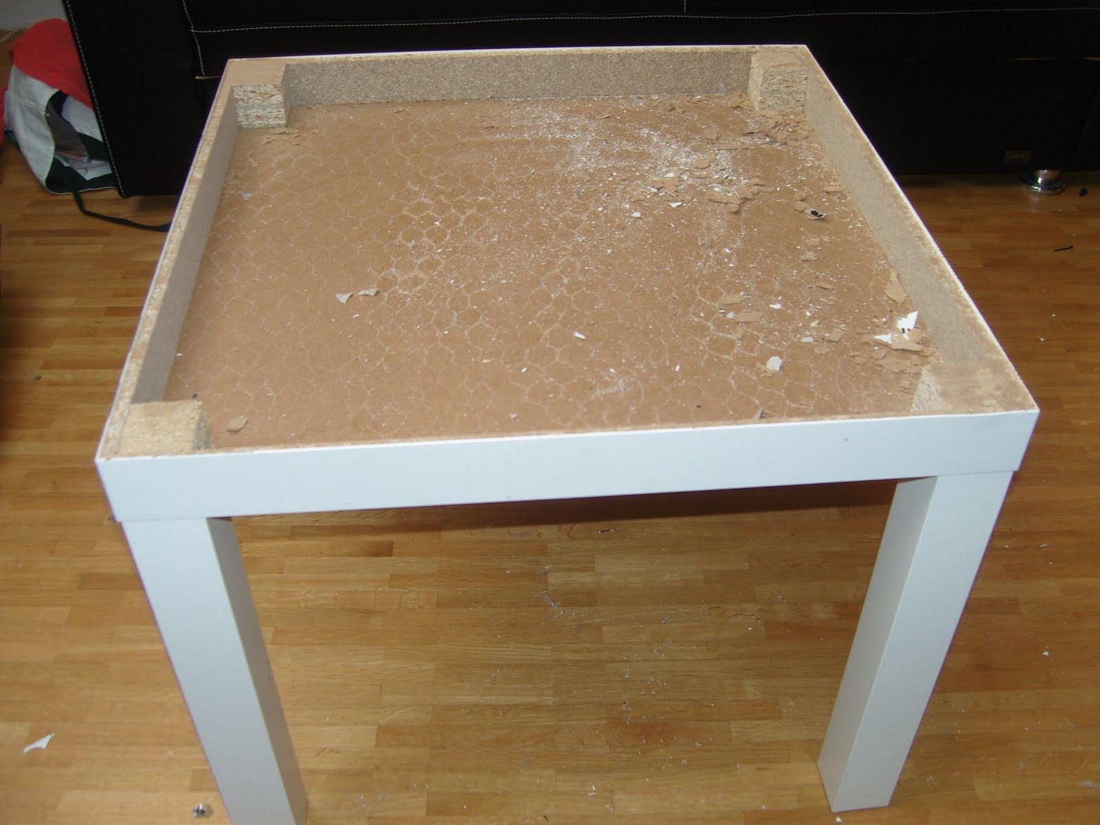 dev random krams und zeugs ein loch im tisch 2. Black Bedroom Furniture Sets. Home Design Ideas
