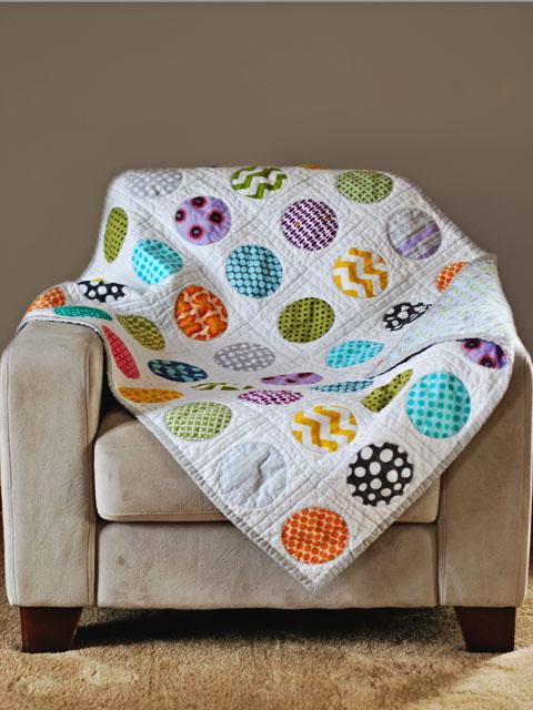 Bijou Lovely Circle Quilt Take Two