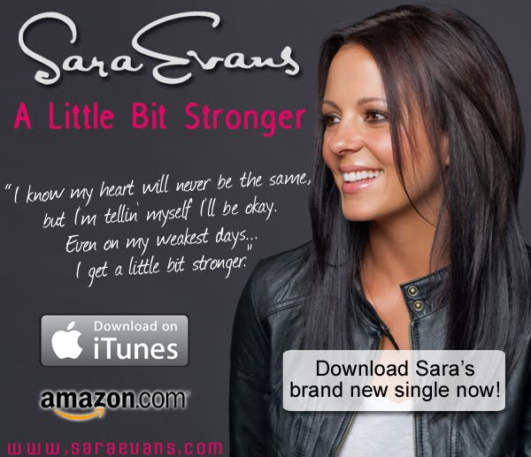sarah evans a little bit stronger lyrics