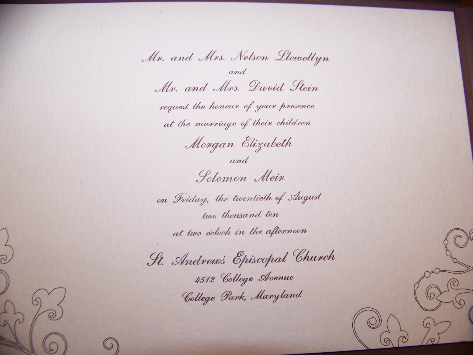 Assembly Of Wedding Invitations: Life At The Llewellyns': Assembly Line Wedding Invitations