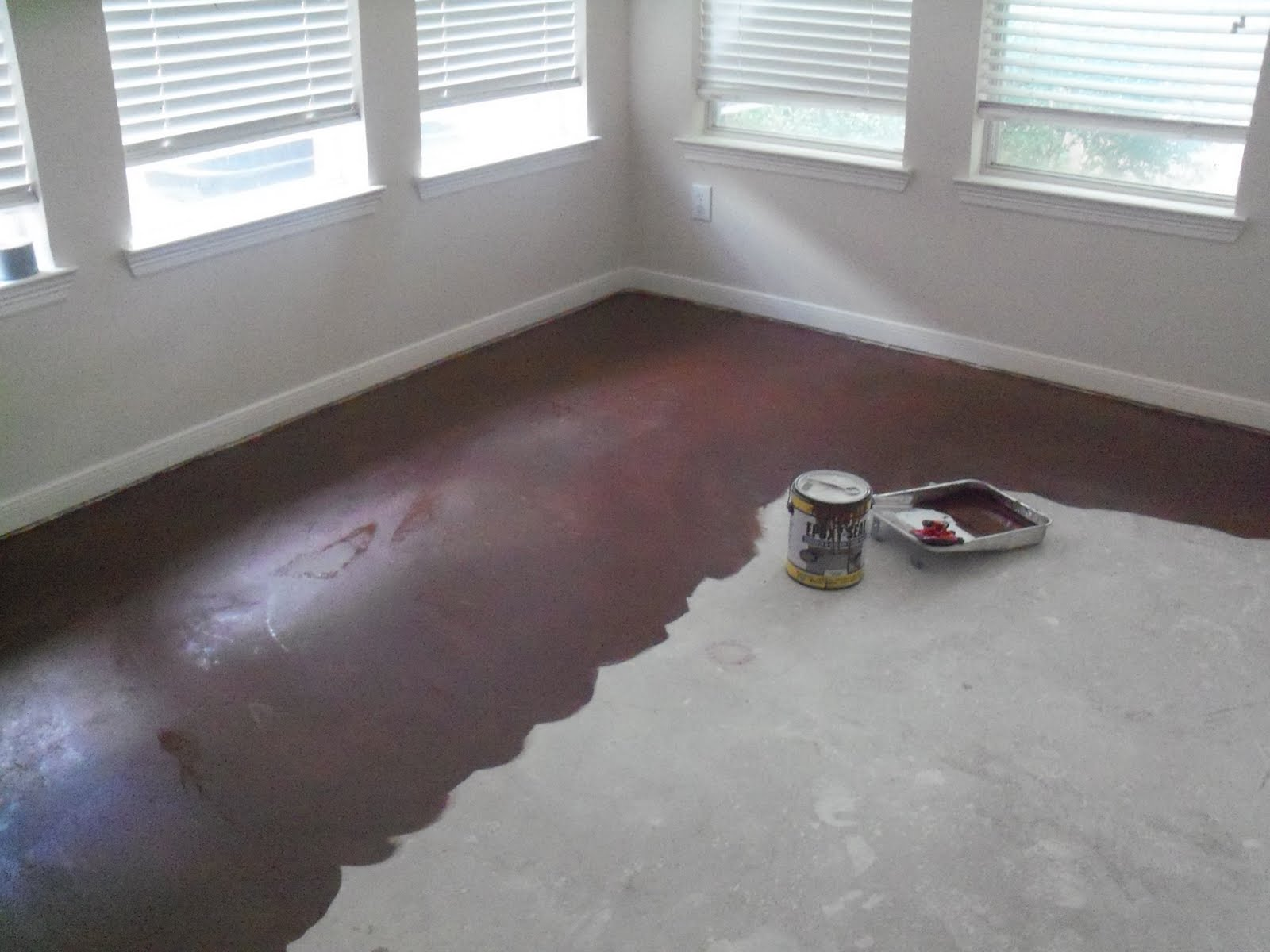 Paint Indoor Concrete Floors