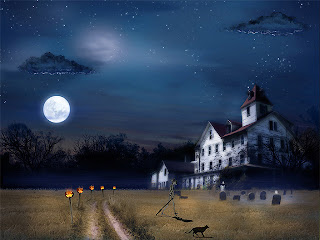 Halloween wallpaper september 2009 - Scary halloween screensavers animated ...
