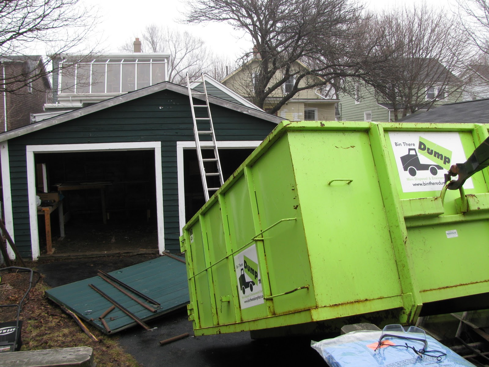 Extreme Home Makeover Joe Edition Garage Demolition