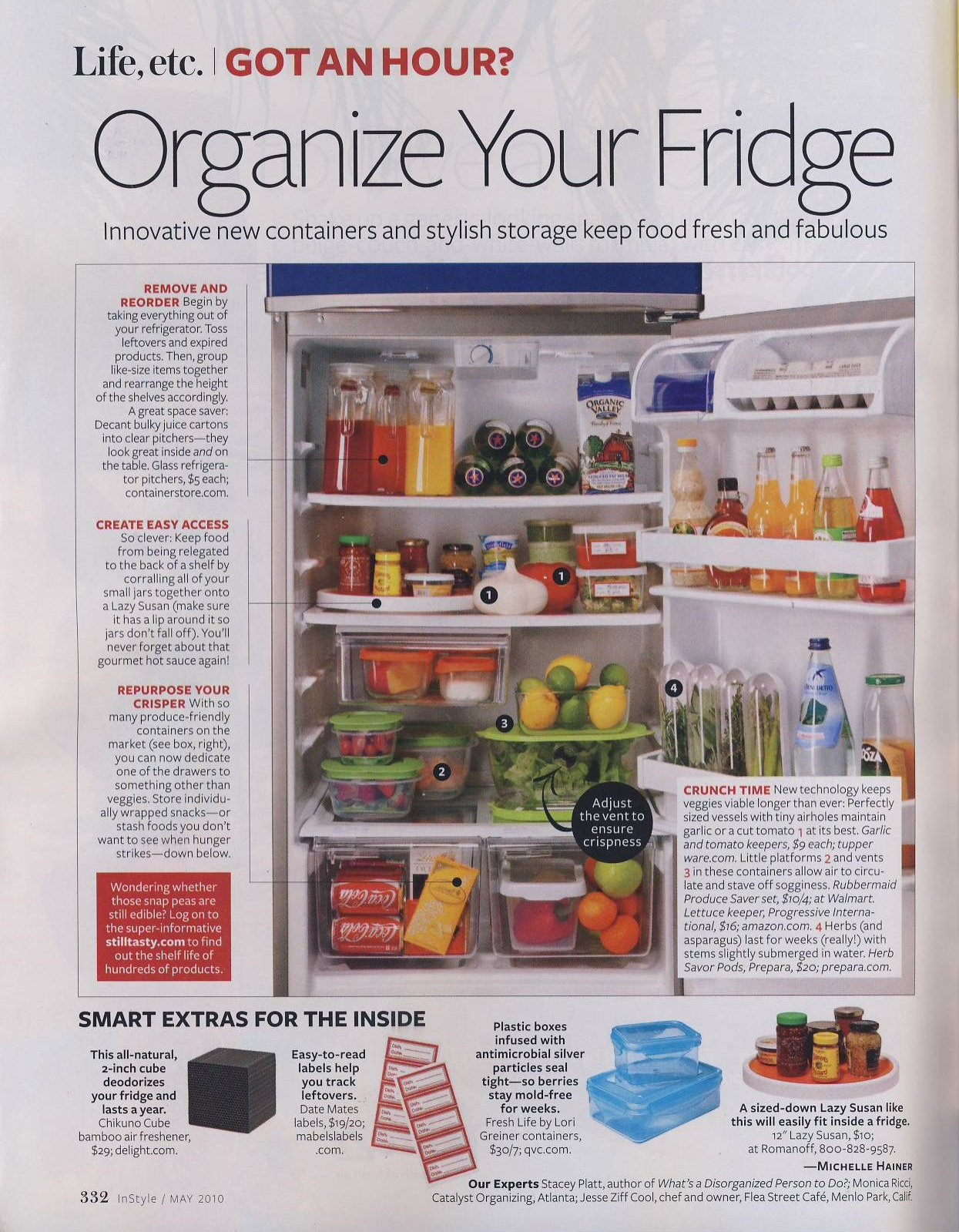 How to Organize Fridge