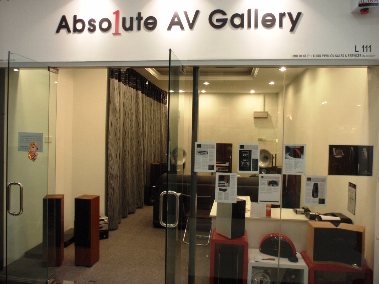 Hifi Shop 24 Hifi Unlimited Absolute Av Gallery In Amcorp Mall