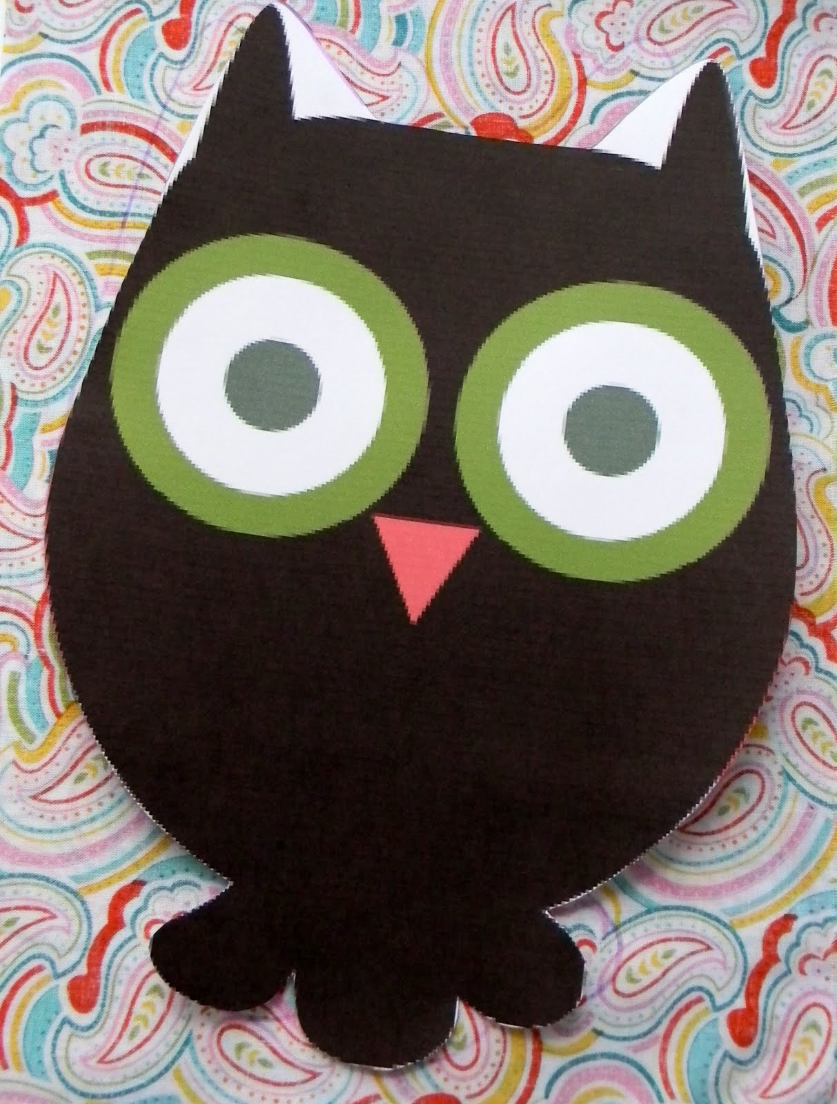 29 best images about Owl Early Learning Ideas on Pinterest ...   Owl Tracing For Cut Out