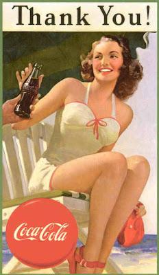Glamoursplash: The Coca-Cola Girl