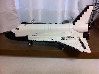LEGO: 10213 Shuttle Adventureを組みました
