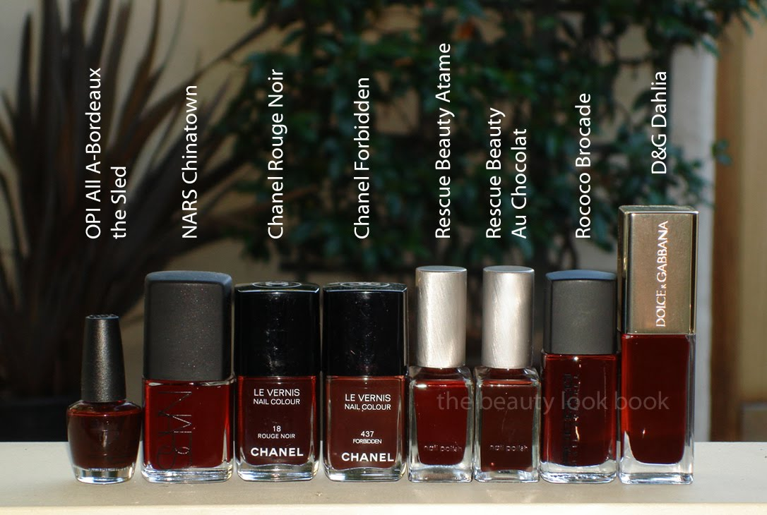 chanel rouge noir le vernis can you dupe it the beauty look book. Black Bedroom Furniture Sets. Home Design Ideas