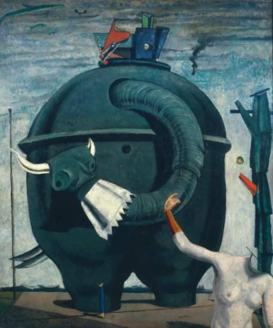 Max Ernst (1881 - 1976) , précurseur du surréalisme