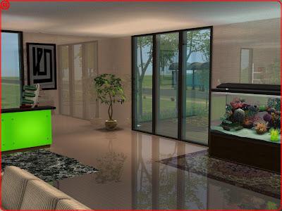 Piso e parede com reflexo by leo the sims 3 personalizado - Fotos de recibidores de pisos ...