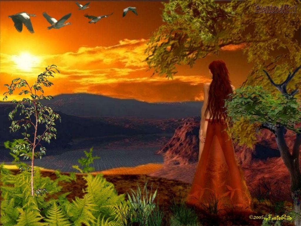 Dama poética do outono