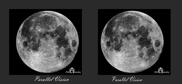 Astro Anarchy The Good Old Moon As A Stereo Pair