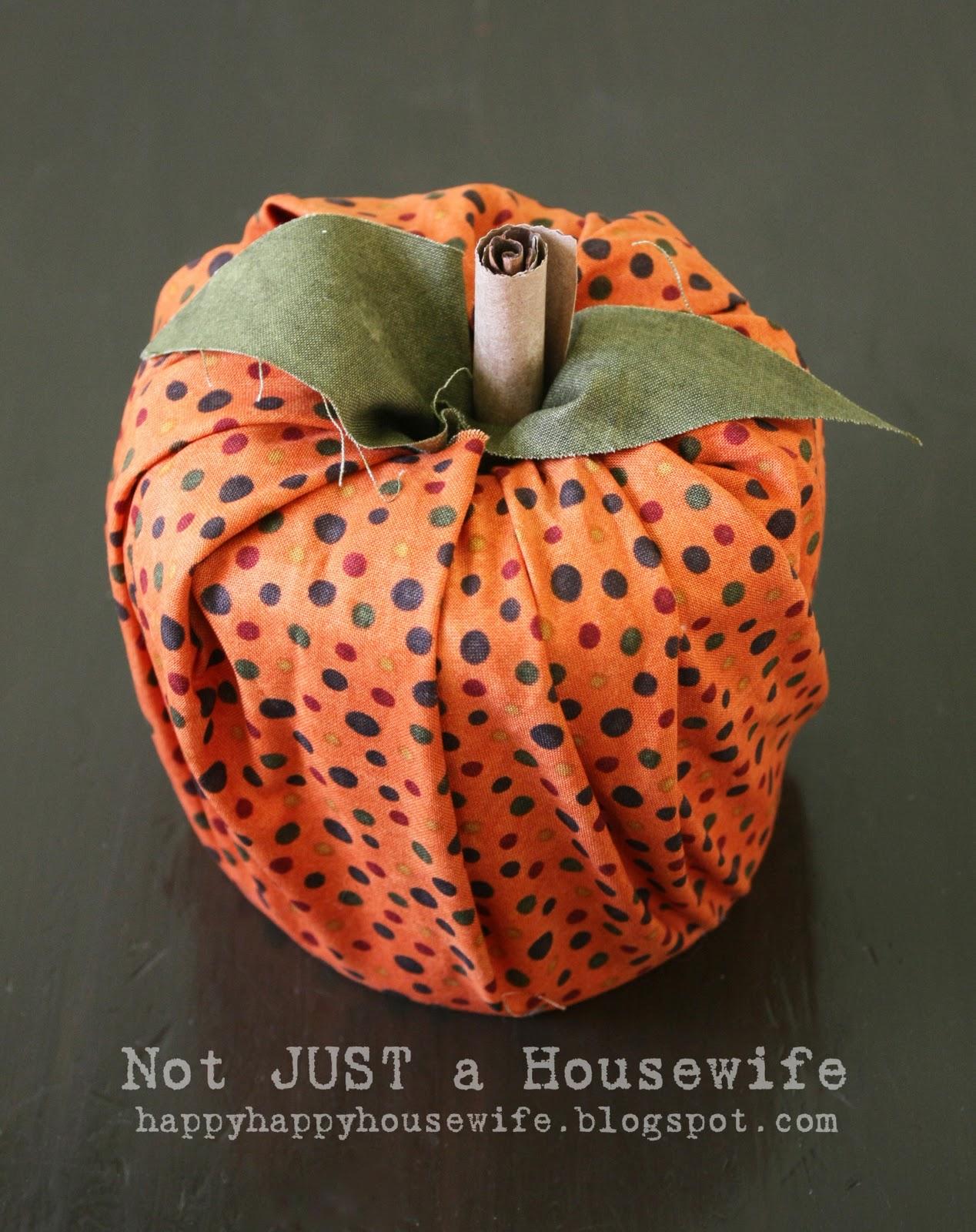 Easy No Sew Pumpkin