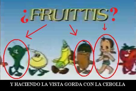 nombre de los fruitis