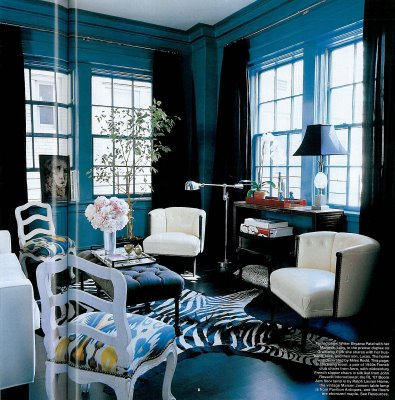 designing bliss pretty as peacock blue. Black Bedroom Furniture Sets. Home Design Ideas