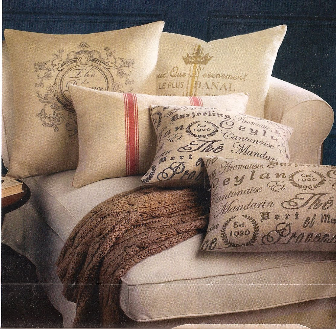 Designing Bliss Spend Or Save Vintage French Linen Pillows