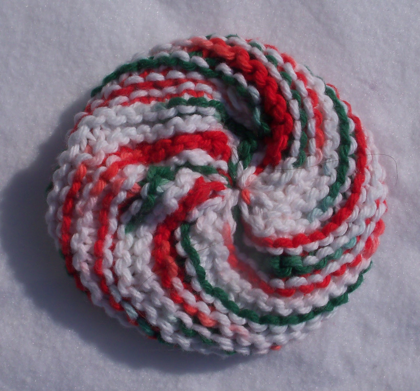 Textiles4you: Knitted Scrubbies