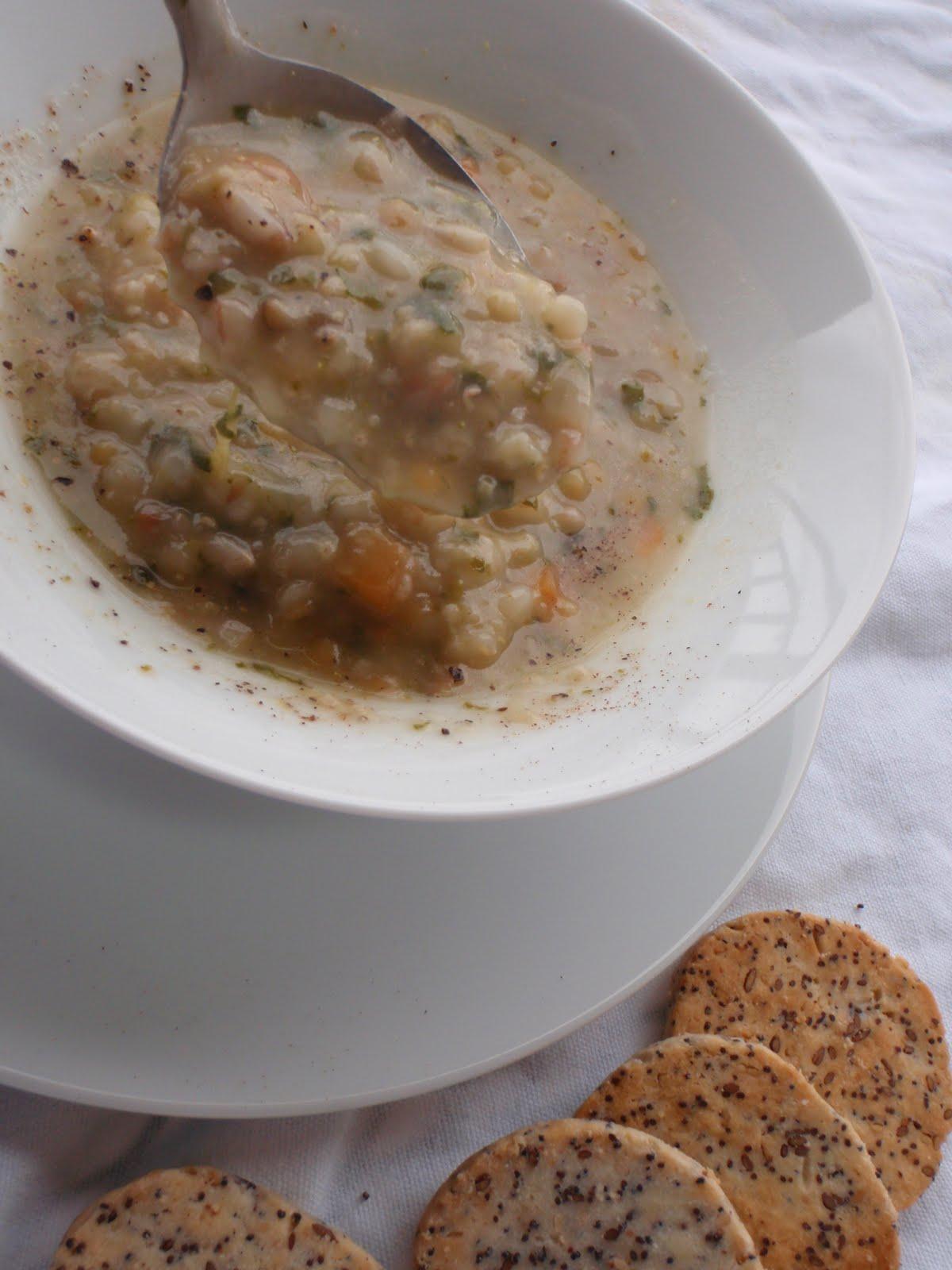 zuppa legumi e cereali