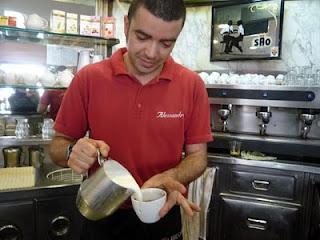 O melhor cappuccino de Roma - dicas de guiabrasileiraemroma.com.br
