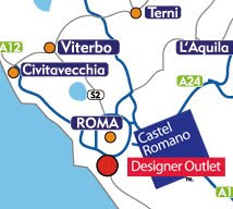 box locationplan - CASTEL ROMANO OUTLET