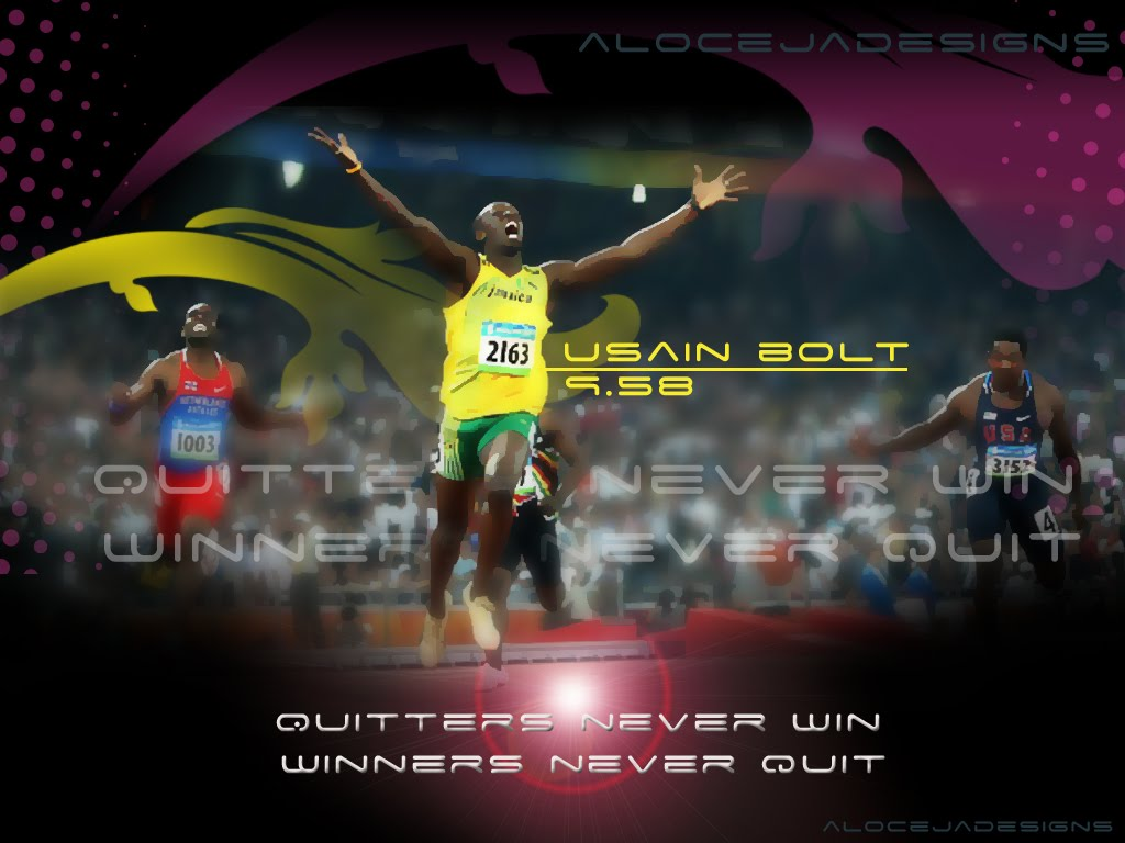 aloceljadesigns: quitters never win, winners never quit wallpaper