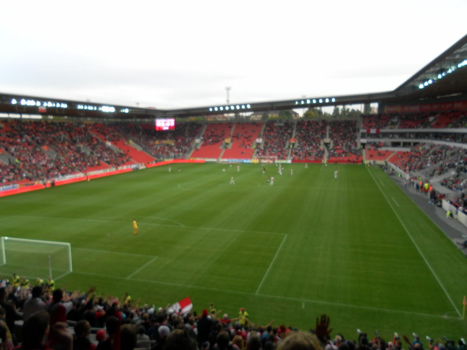 Garrett's European Adventure: Slavia, Praha Soccer Game