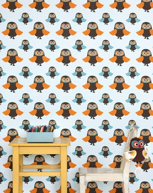 My Owl Barn Ferm Living Wallpaper