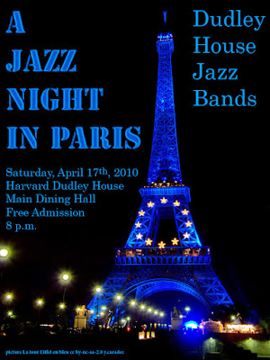 A Jazz Night in Paris Dudley House Jazz Bands