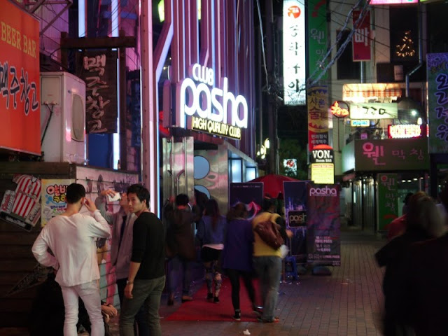 Daegu night clubs