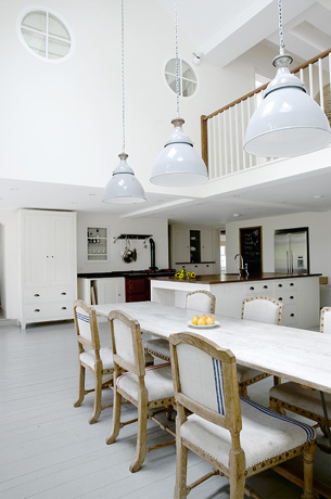 Farrow and Ball Hardwick White floor paint