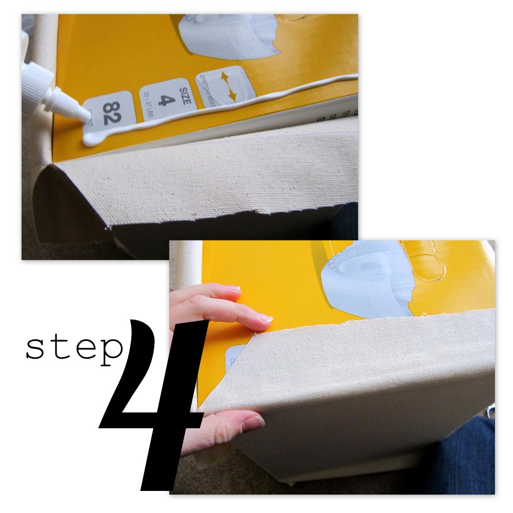 diy decorated storage boxes. Lined Canvas Bins (from Diaper Boxes!) - Positively Splendid {Crafts, Sewing, Recipes And Home Decor} Diy Decorated Storage Boxes