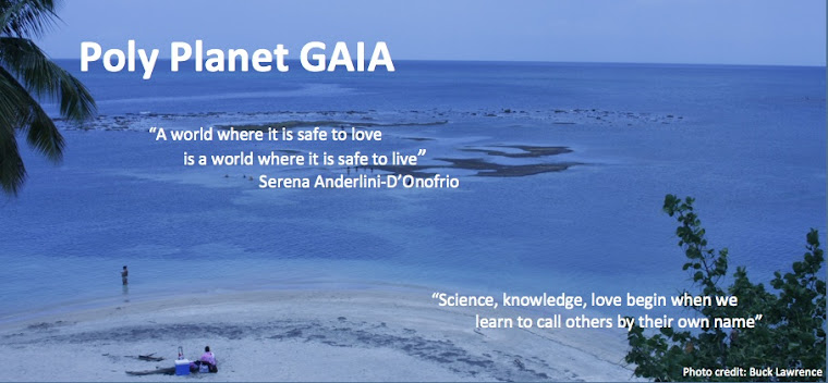 Poly Planet GAIA | ecosexual love | arts of loving | global holistic health | eros | dissidence