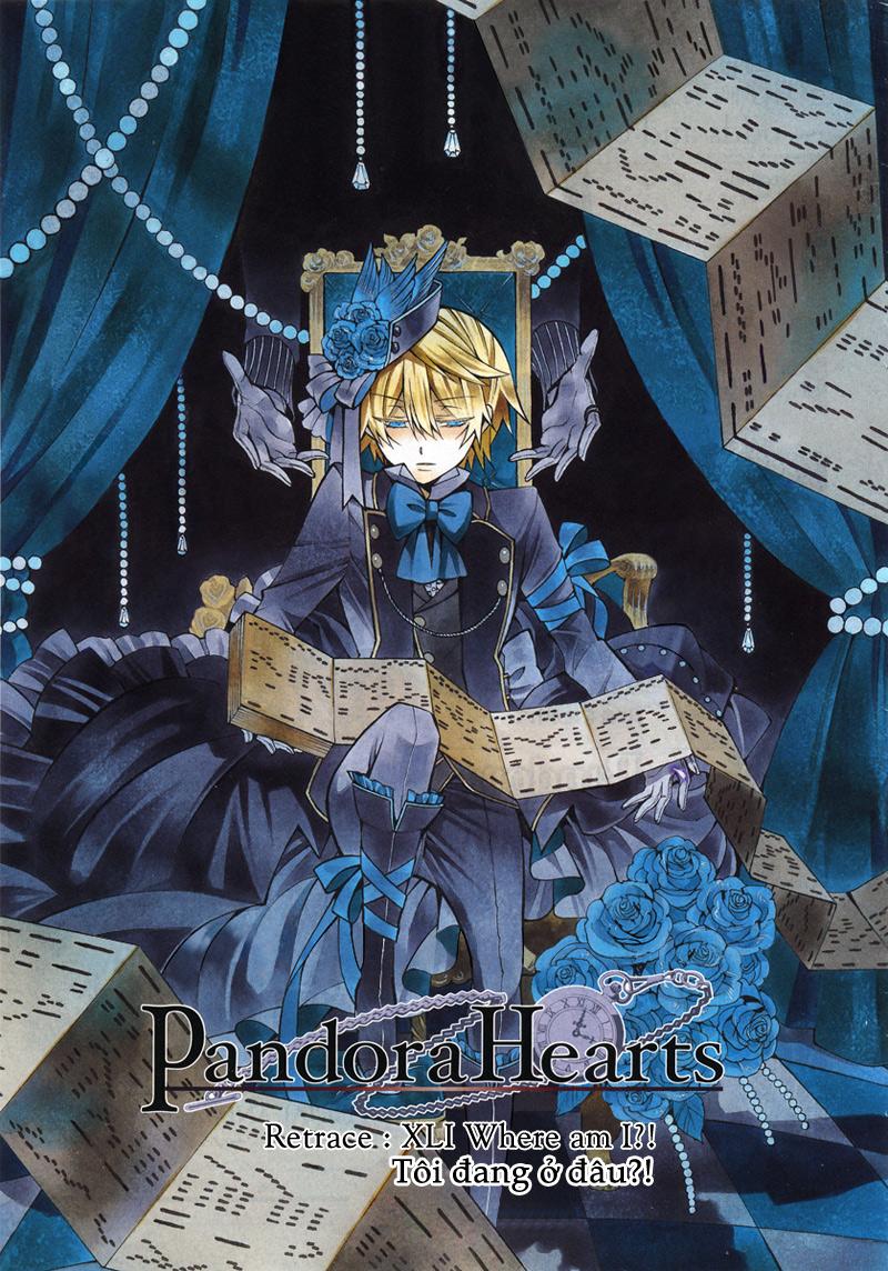 Pandora Hearts chương 041 - retrace: xli where am i?! trang 2