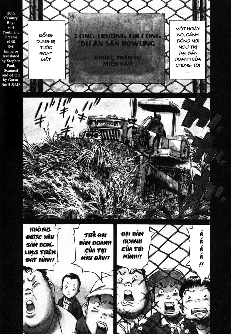 20th Century Boys chapter 147 trang 3