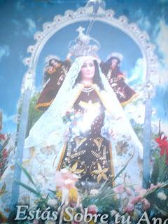 Mi Pariamarca Encanta Leyenda De La Aparicion De La Virgen De La