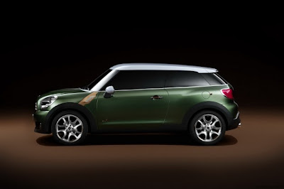 Mini Paceman,  new technology