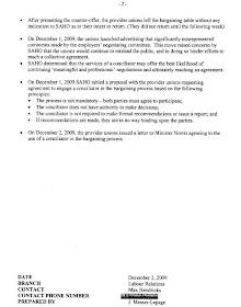 Owls and Roosters: Saskatchewan Health briefing note biased