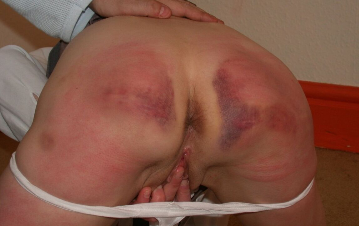 a well spanked bottom