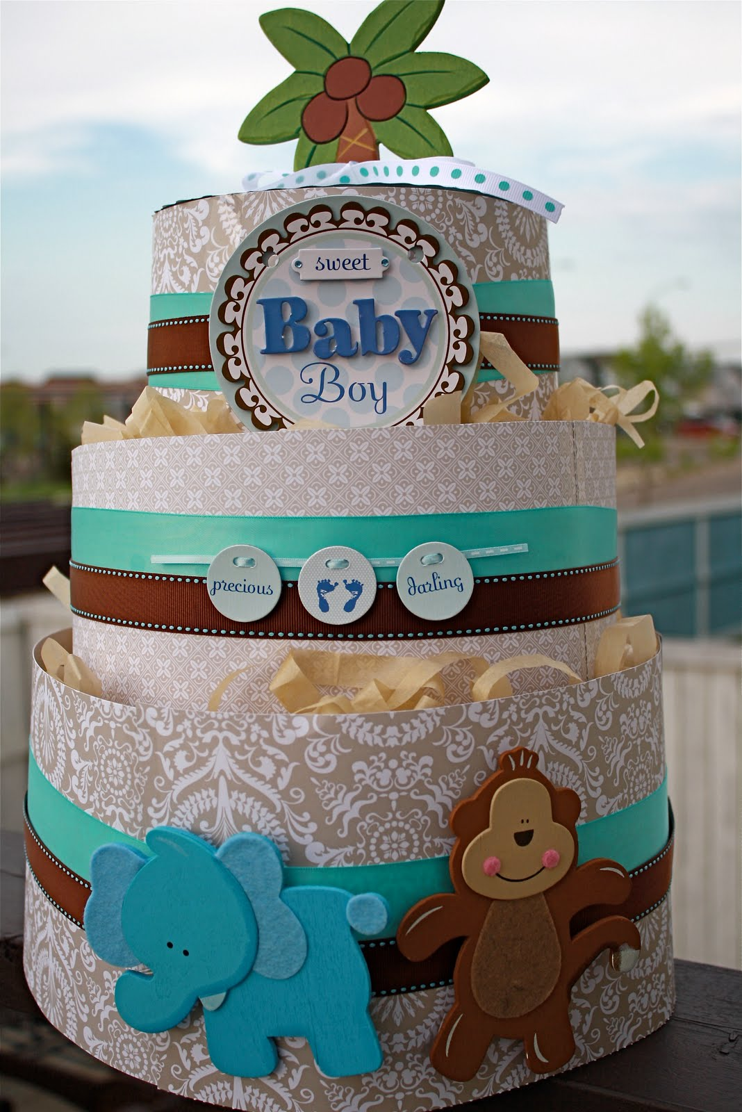 Canadian Hostess Blog Make Your Own Diaper Cake