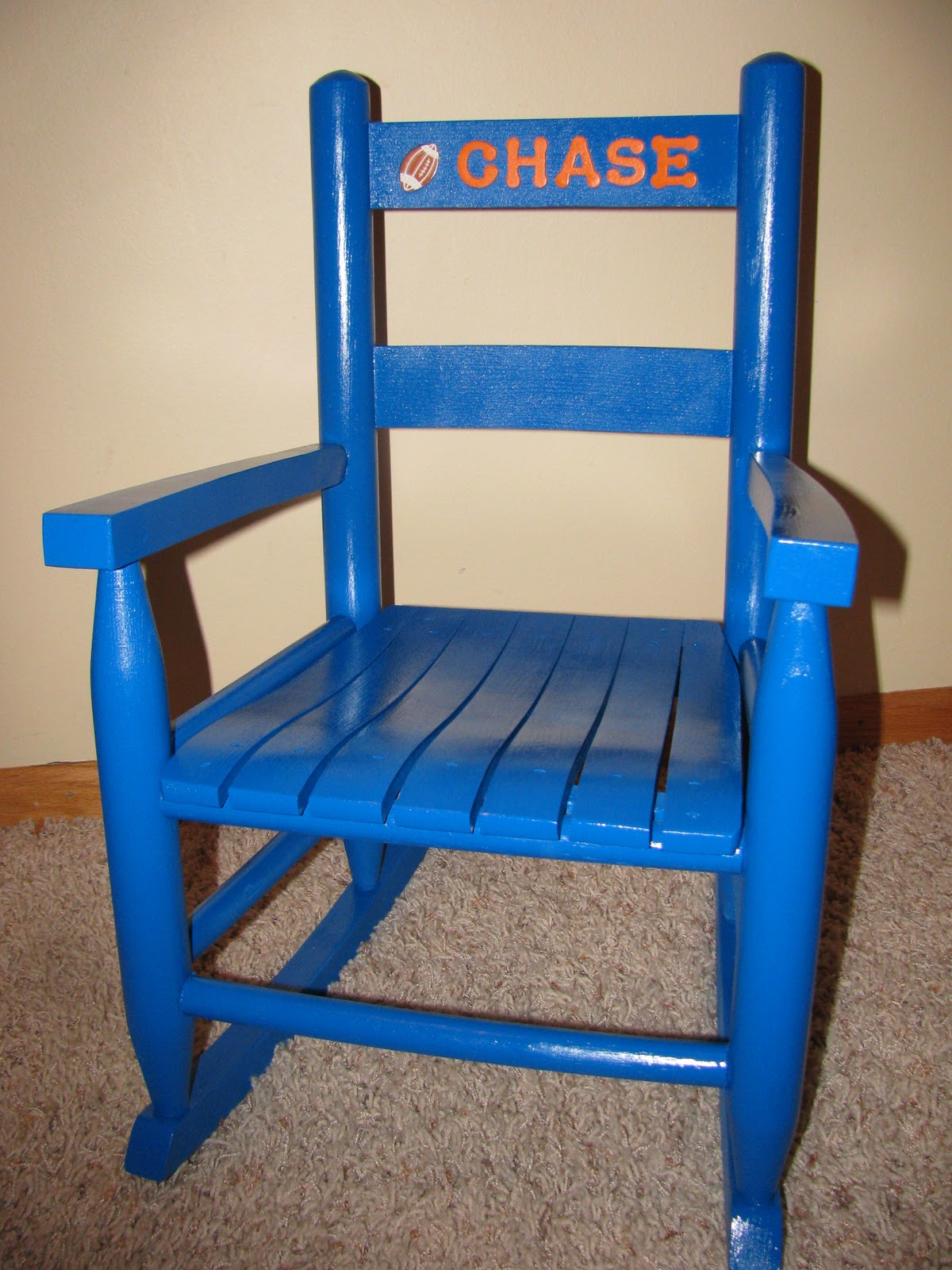 Custom Personalized Toddler Rocking Chairs!