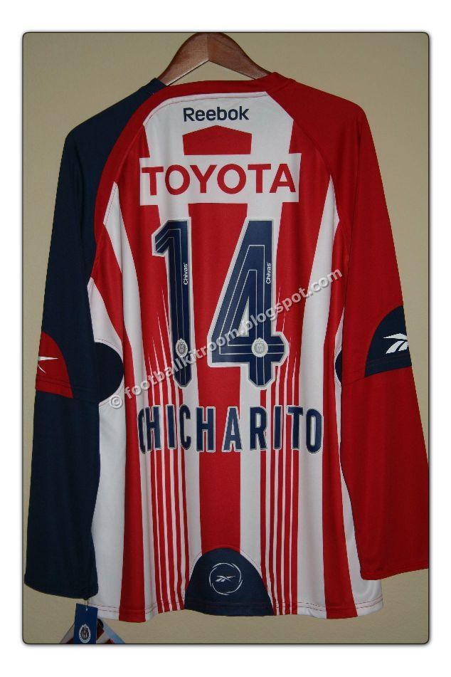a65a4755a The Football Kit Room  2009-10 Chivas Deportivo Guadalajara Home Kit
