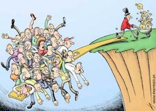 Desníveis Sociais: Charge da Semana