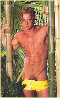 Jason brooks in playgirl magazine