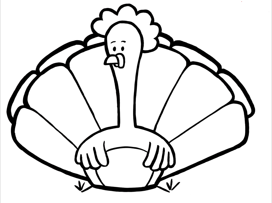 coloring turkey pages free printable turkey coloring pages for