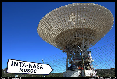 Estación espacial de Madrid de NASA e INTA en Robledo de Chavela