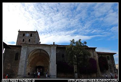 Iglesia de Santa María del Conceju en LLanes, Asturias