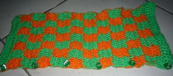 Innovative Art And Craft Works Crochet Fridge Handle Cover