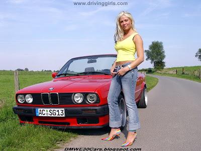 Cheapest Auto Insurance >> Magazine Automotive: Sexy girl driving red E30 cabrio