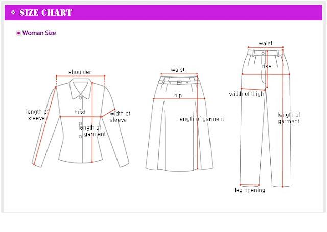 also korea  japan fashion clothing size chart rh  femmespot